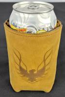 Butler Performance - Top Grain Leather Koozie, Insulated, Custom Laser Logo - Image 12