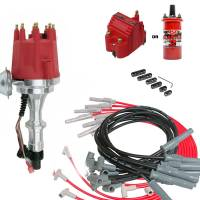 Ignition/Electrical - Ignition Coils - Butler Performance - Complete TSP Ready to Run Ignition Kit, Dist, Wires, Coil TSP-KIT-JM7704R