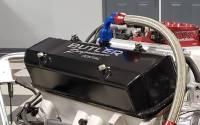 Butler Performance - Pontiac Custom Fab Aluminum Valve Covers, EVAC Baffle Installed, Black Powder Coated, Choose Your Options (Set)BFA-VC-BK-EVAC - Image 3