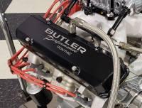 Butler Performance - Pontiac Custom Fab Aluminum Valve Covers, EVAC Baffle Installed, Black Powder Coated, Choose Your Options (Set)BFA-VC-BK-EVAC - Image 4