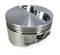 """Pistons - 455 Pistons - Ross Racing Pistons - Butler Ross Quick Ship-8cc Flat Top Forged Pistons,4.250 Str., 4.191"""" Bore"""