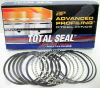 "Rings - Aftermarket Block - Total Seal - Total Seal Ring Set, w/AP Stainless Top, 4.350"" Bore, (4.355"" Ring), File Fit TSR-CS9190-105"