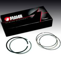 "Rings - 326 Block - Sealed Power - Sealed Power Ring Set, Stock Thickness, 3.875"" Bores SPR-E245K-030"