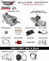 Transmissions - Tremec Transmission Kits by SST - SST - 64-67 GTO/LeMans, A-Body, SST Tremec Perfect-Fit 5 Speed TKX Transmission Kit, Auto to TKX
