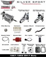 Transmissions - Tremec Transmission Kits by SST - SST - 67-69 FB, F-Body, SST Tremec Perfect-Fit 5 Speed TKX Transmission Kit, Auto to TKX
