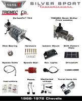 Transmissions - Tremec Transmission Kits by SST - SST - 68-72 GTO/LeMans, A-Body, SST Tremec Perfect-Fit 5 Speed TKX Transmission Kit, Auto to TKX