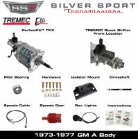 Transmissions - Tremec Transmission Kits by SST - SST - 73-77 GTO/LeMans, A-Body, SST Tremec Perfect-Fit 5 Speed TKX Transmission Kit, Manual to TKX