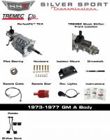 Transmissions - Tremec Transmission Kits by SST - SST - 73-77 GTO/LeMans, A-Body, SST Tremec Perfect-Fit 5 Speed TKX Transmission Kit, Auto to TKX