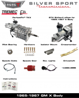 Transmissions - Tremec Transmission Kits by SST - SST - 65-67 X-Body, SST Tremec Perfect-Fit 5 Speed TKX Transmission Kit, Manual to TKX