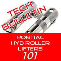 Hyd Roller Lifter Specs and Information