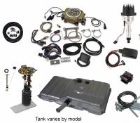 Butler Complete EFI Solutions - EFI Solutions- Ignition Series - Butler Performance - Butler Performance Ignition Series Complete EFISolution Kit w/ HOLLEY SNIPER 4150, EFI Ready Fuel Tank w/Complete In-Tank Fuel System