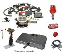 Butler Complete EFI Solutions - EFI Solutions- Ignition Series - Butler Performance - Butler Performance Ignition Series Complete EFISolution Kit w/ FAST EFI 1.0, EFI Ready Fuel Tank w/Complete In-Tank Fuel System
