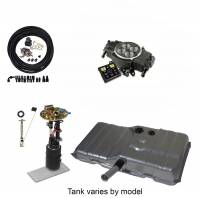 EFI Systems & Components - Butler Performance - Butler Performance Complete EFISolution Kit w/ HOLLEY SNIPER STEALTH 4150, EFI Ready Fuel Tank w/Complete In-Tank Fuel System