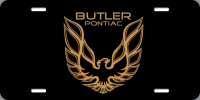 Apparel, Decals, Books, Gift Cards - Decals - License Plates- Gift Cards - Butler Performance - Butler Performance Trans Am License Plate