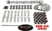 "Ram Air Series Cam and Cam Kits by Butler - Ram Air Series Hyd Roller Retrofit Cam and Cam Kits by Butler - Butler Performance - Copy of Butler Exclusive Pontiac Ram Air IV ""041"" Hydraulic Roller Retrofit Camshaft Master Kit,287/296232/241, .507/.541 HR113"