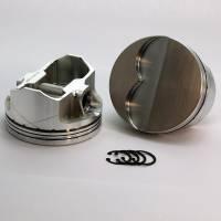 """DSS 400/428/455 Piston Set 2-6133-4180; 4.250 stroke4.180""""Bore -18cc Dish Top"""