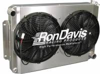 Ron Davis '67-'69 Firebird Type Radiator Fan and Shroud Kit w/o TOC