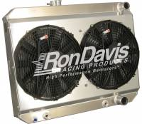 Ron Davis '66-'67 GTO Type Radiator Shroud and Fan Kit w/ TOC