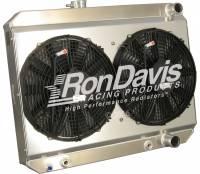 Ron Davis '66-'67 GTO Type Radiator Shroud and Fan Kit w/o TOC